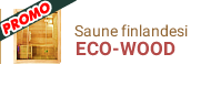 Menu - Saune finlandesi da interno ECO-WOOD